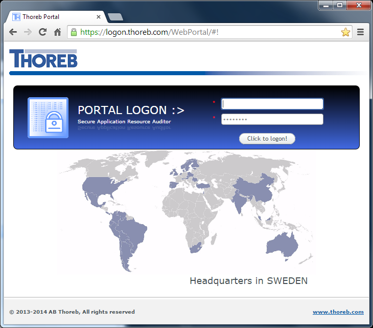 Thoreb Logon Portal